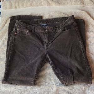 Polo Jeans co brown corduroy jeans